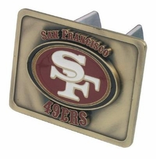 San Francisco 49ers Trailer Hitch Cover