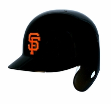San Francisco Giants Left Flap Rawlings Authentic Batting Helmet
