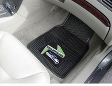 Seattle Seahawks Super Bowl Champions Heavy Duty 2-Piece Vinyl Car Mat Set
