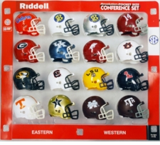 SEC Pocket Pro Conference Helmet Set, 2012