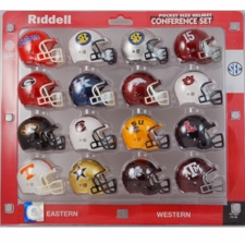 SEC Pocket Pro Conference Helmet Set, 2015