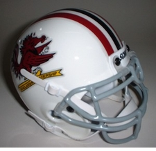 South Carolina Gamecocks 1966 Schutt Throwback Mini Helmet
