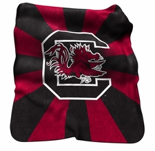 South Carolina Gamecocks Raschel Throw