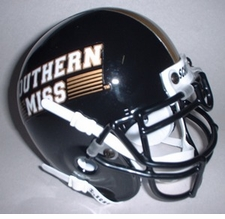 Southern Miss Golden Eagles 2002 Schutt Throwback Mini Helmet