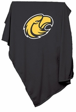 Southern Miss Golden Eagles Sweatshirt Blanket (Black)