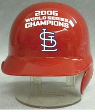 St. Louis Cardinals 2006 World Series Champions Riddell Mini Baseball Batting Helmet