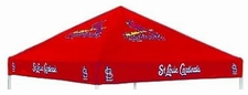St. Louis Cardinals Red Logo Tailgate Tent Replacement Canopy Top