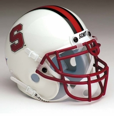 Stanford Cardinal 2002-07 Schutt Throwback Mini Helmet