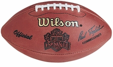 Super Bowl 23 XXIII Wilson Official NFL Game Football : San Francisco 49ers vs. Cincinnati Bengals
