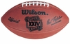 Super Bowl 24 XXIV Wilson Official NFL Game Football : San Fancisco 49ers vs. Denver Broncos