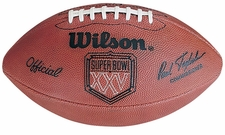 Super Bowl 25 XXV Wilson Official NFL Game Football : New York Giants vs. Buffalo Bills