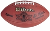 Super Bowl 26 XXVI Wilson Official NFL Game Football : Washington Redskins vs. Buffalo Bills