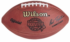 Super Bowl 28 XXVIII Wilson Official NFL Game Football : Dallas Cowboys vs. Buffalo Bills