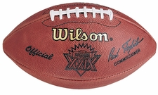 Super Bowl 29 XXIX Wilson Official NFL Game Football : San Francisco 49ers vs. San Diego Chargers