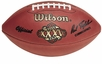 Super Bowl 35 XXV Wilson Official NFL Game Football : New York Giants vs. Baltimore Ravens