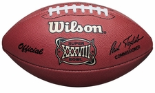 Super Bowl 38 XXVIII Wilson Official NFL Game Football : Carolina Panthers vs. New England Patriots