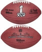 Super Bowl 45 XLV Wilson Official NFL Game Football : Green Bay Packers vs Pittsburgh Steelers