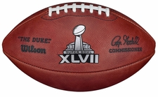Super Bowl 47 XLVII Wilson Official NFL Game Football : San Francisco 49ers vs Baltimore Ravens