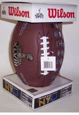 Super Bowl 48 XLVIII Replica Game Full Size Football
