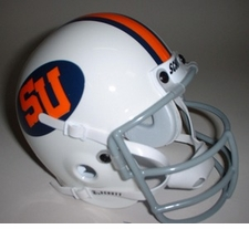 Syracuse Orangemen 1976 Schutt Throwback Mini Helmet