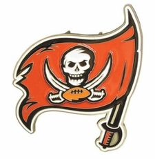 Tampa Bay Buccaneers Logo Trailer Hitch Cover