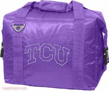 TCU Horned Frogs 12 Pack Small Cooler