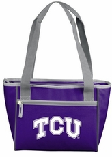 TCU Horned Frogs 16 Can Cooler Tote