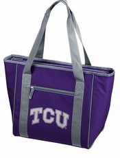 TCU Horned Frogs 30 Can Cooler Tote