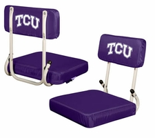 TCU Horned Frogs Hard Back Stadium Seat
