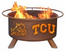 TCU Horned Frogs Outdoor Fire Pit
