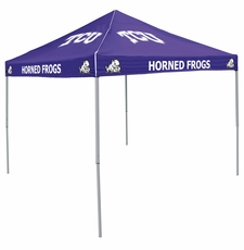 TCU Horned Frogs Purple Logo Canopy Tailgate Tent