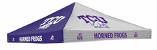 TCU Horned Frogs Purple / White Logo Tent Replacement Canopy