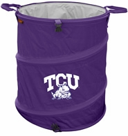 TCU Horned Frogs Tailgate Trash Can / Cooler / Laundry Hamper