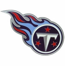 Tennessee Titans Logo Trailer Hitch Cover