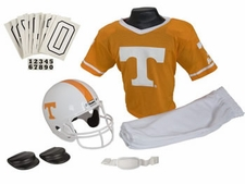 Tennessee Volunteers Deluxe Youth / Kids Football Helmet Uniform Set