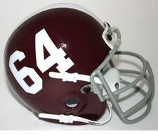 Texas A&M Aggies 1964 Schutt Throwback Mini Helmet