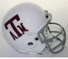 Texas A&M Aggies 1972-77 Schutt Throwback Mini Helmet