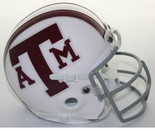 Texas A&M Aggies 1978 Schutt Throwback Mini Helmet