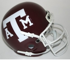 Texas A&M Aggies 1979 Schutt Throwback Mini Helmet