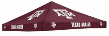 Texas A/M Aggies Maroon Logo Tent Replacement Canopy