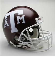 Texas A&M Aggies Riddell Pro Line Authentic Helmet