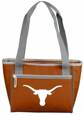 Texas Longhorns 16 Can Cooler Tote