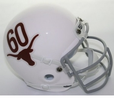 Texas Longhorns 1965 Schutt Throwback Mini Helmet