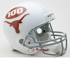 Texas Longhorns 1969 Throwback Riddell Deluxe Replica Helmet