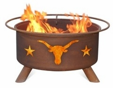Texas Longhorns Outdoor Fire Pit