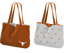 Texas Longhorns Reversible Tote Bag