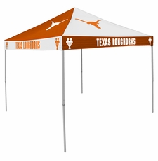 Texas Longhorns Rust / White Checkerboard Logo Canopy Tailgate Tent