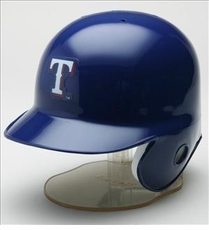 Texas Rangers Riddell Mini Baseball Batting Helmet