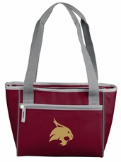 Texas State Bobcats 16 Can Cooler Tote