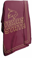 Texas State Bobcats Classic Fleece Blanket